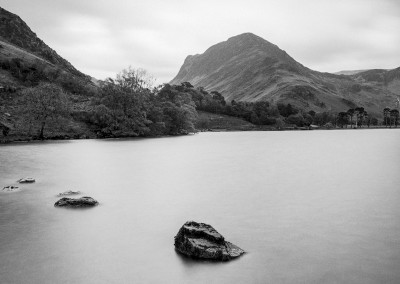 Buttermere, black and white photography by Alastair Ross