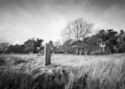 Ties to the Land XIV : Longshaw Mile Stone, Derbyshire Peak District
