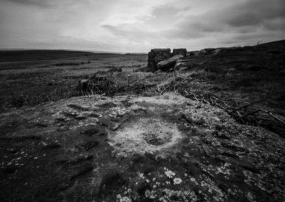 Ties to the Land XVII : WW2 US Army Mortar Impact, Big Moor, Peak District