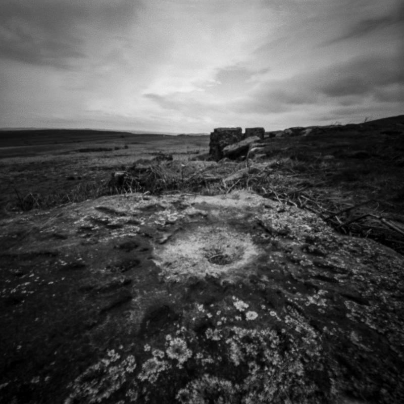 Ties to the Land XVII : WW2 US Army Mortar Impact, Big Moor, Peak District