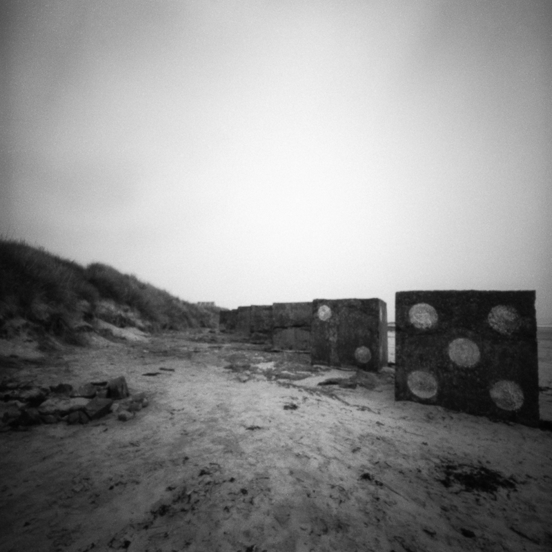 XXI - Tank Trap Dice Bamburgh Beach, Northumberland