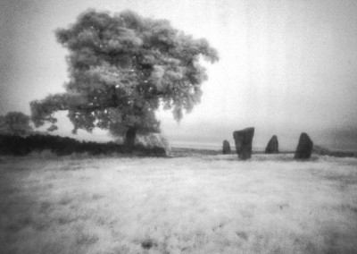 Nine Sone Close, Peak District, Infra Red Pinhole