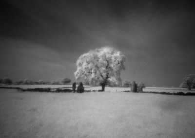 Nine Stone Close, Peak District, Infra Red Pinhole