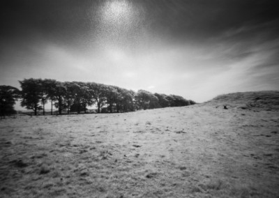 Gibb Hill Barrow, Arbor Low, Peak District, Infra Red Pinhole