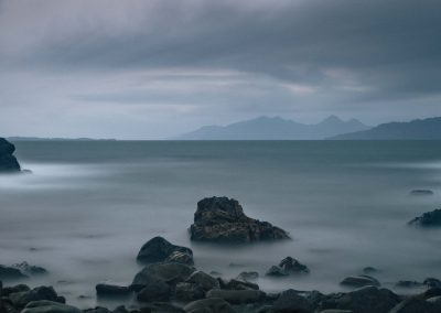 Rum and Eigg from Ardnamurchan, scottish landscape photography