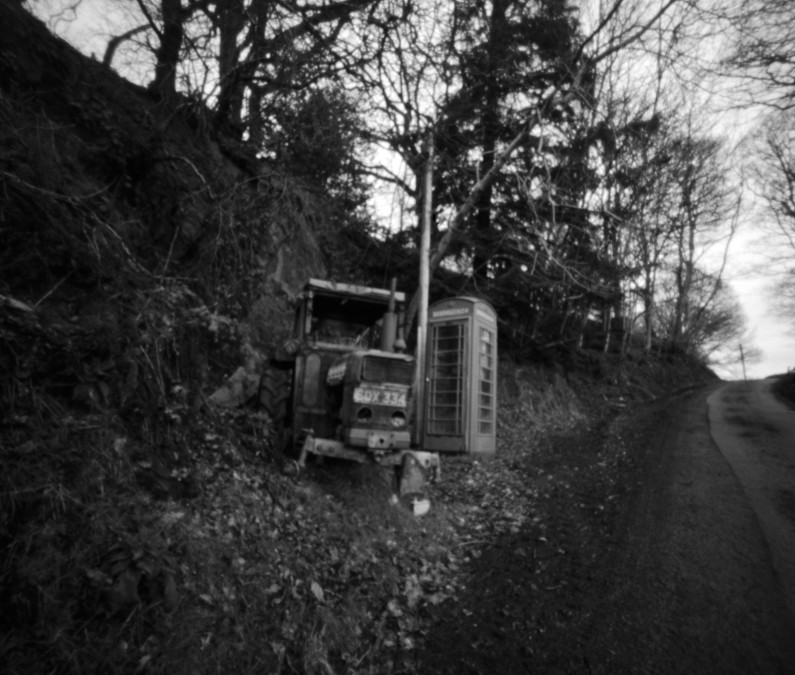 XXIX – Tractor and Phone Box, North Wales