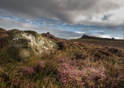 Last of the Colour, Millstone Edge, Peak District, peak district landscape photography