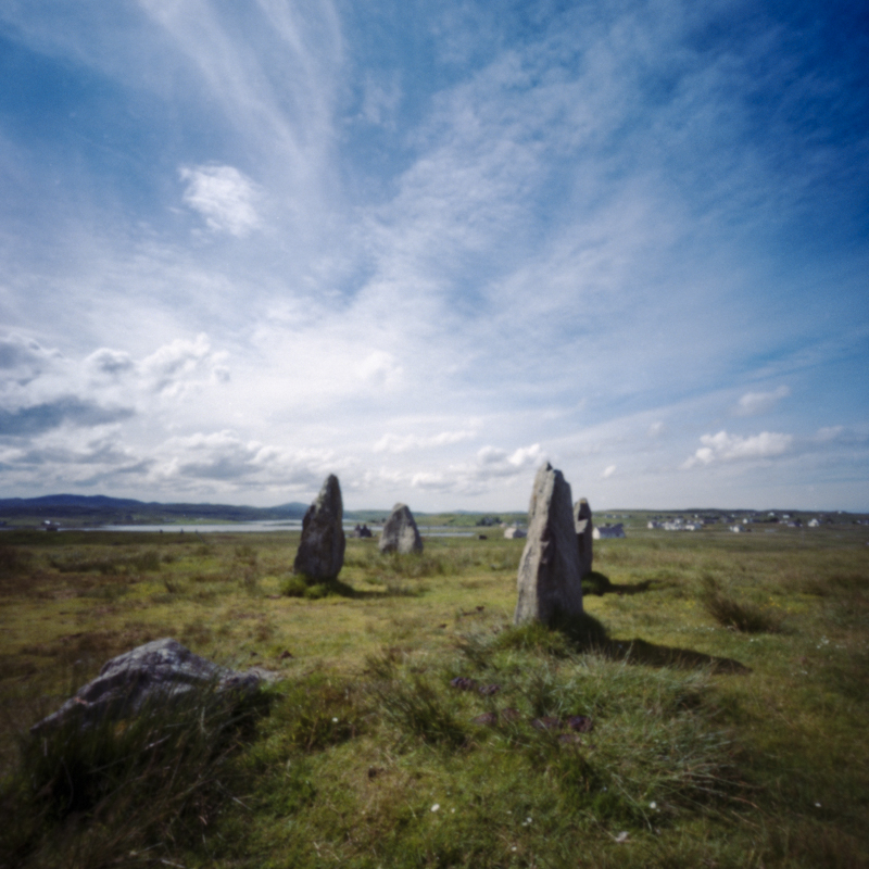 Callanish III on to Callanish II, pinhole, colour superia