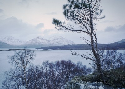 Winter, Ob Mheallaidh and Liathach, Torridon, scottish landscape photography
