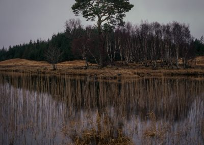Loch Tulla, Highlands of Scotland, scottish landscape photography