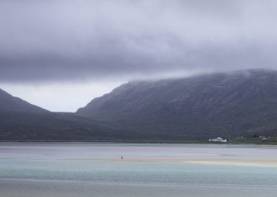 Stranger on the Shore, Seilebost from Luskentrye, hebrides landscape photography
