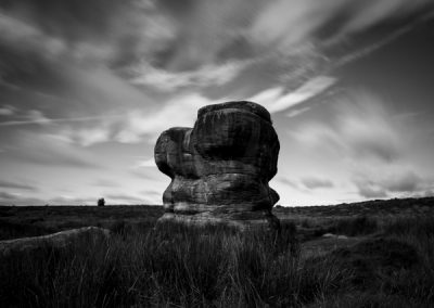 Eagle Stone, Baslow Edge, Derbyshire Peak District, peak district landscape photography