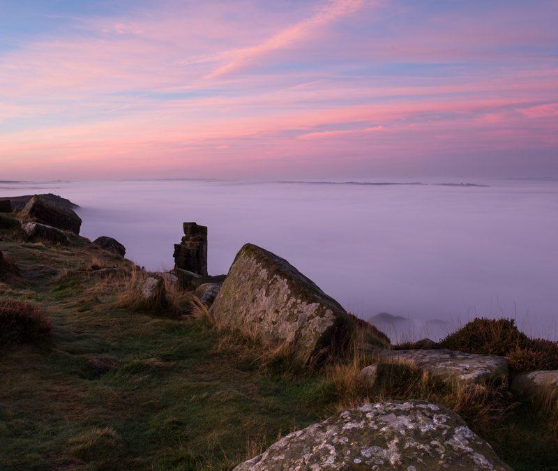 Curbar Edge at Dawn