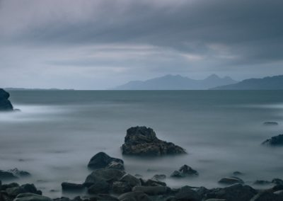 eigg and rum, long exposure, scottish landscape photgraphy, landscape photgraphy scotland, ardnamurchan