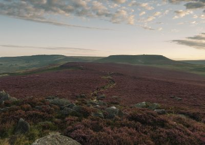 Millstone, Heather and Higger Tor, Peak District, peak district landscape photography