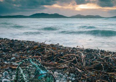 Rubha Aird a' Mhuile, South Uist, dawn western isles, lobster pot