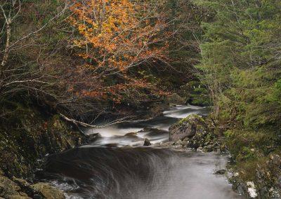 Outrun, Abhainn Teithil, Sutherland's Grove, Argyll