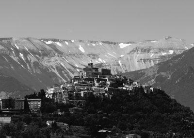 Casoli, Abruzzo, Italy, landscape photography, black and white landscape photography