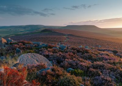 Higger Tor from Over Owler Tor, Peak District, peak district landscape photography, peak district landscape photographer, landscape