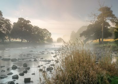 Misty River Derwent, Chatsworth Estate, Peak District, autumn, peak district, peak district landscape photography