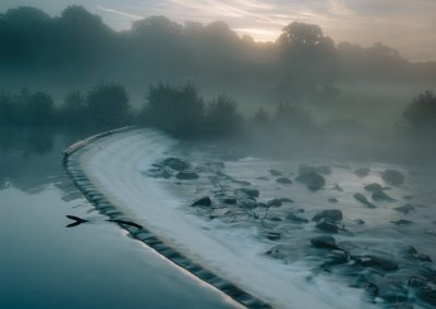 Carlton Lees Weir, Chatsworth Estate, Peak District, alastair ross photograpger, alastair ross photography, peak district landscpare photography, peak district,